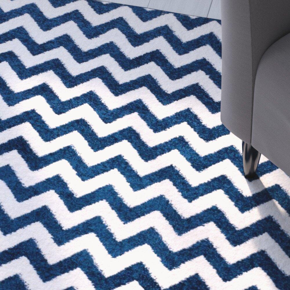 blue chevron rug - rug carpet tile » blue chevron stripe rug rug and carpet tile