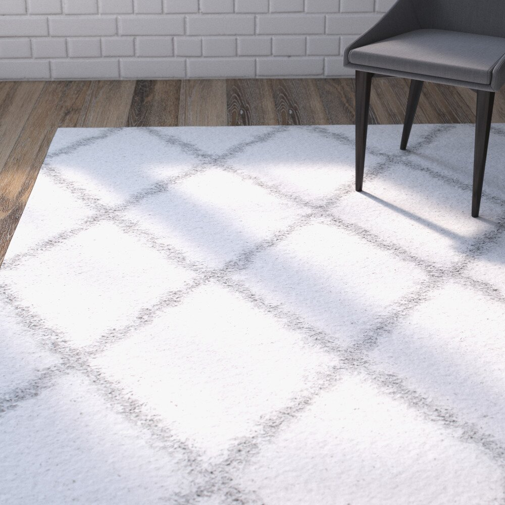 how to clean a white area rug