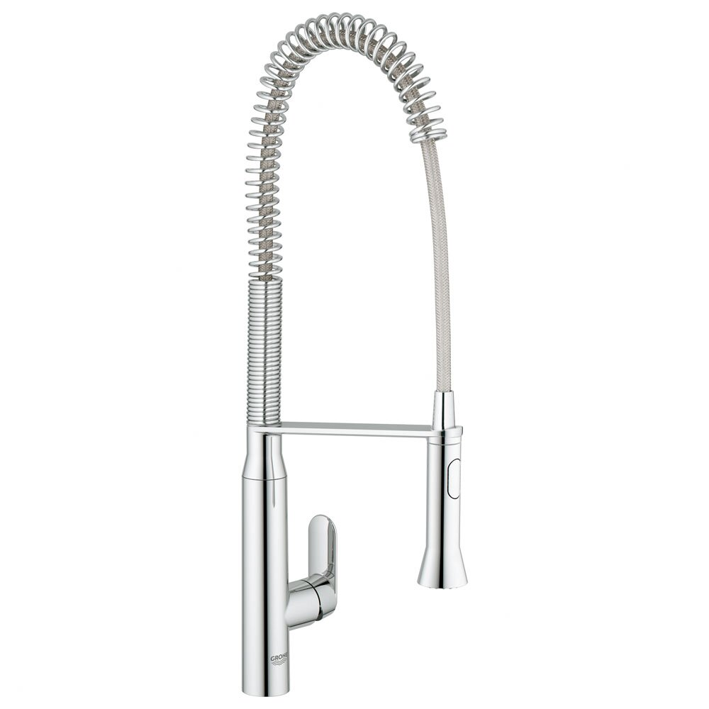 grohe k7 single handle single hole standard kitchen faucet  u0026 reviews