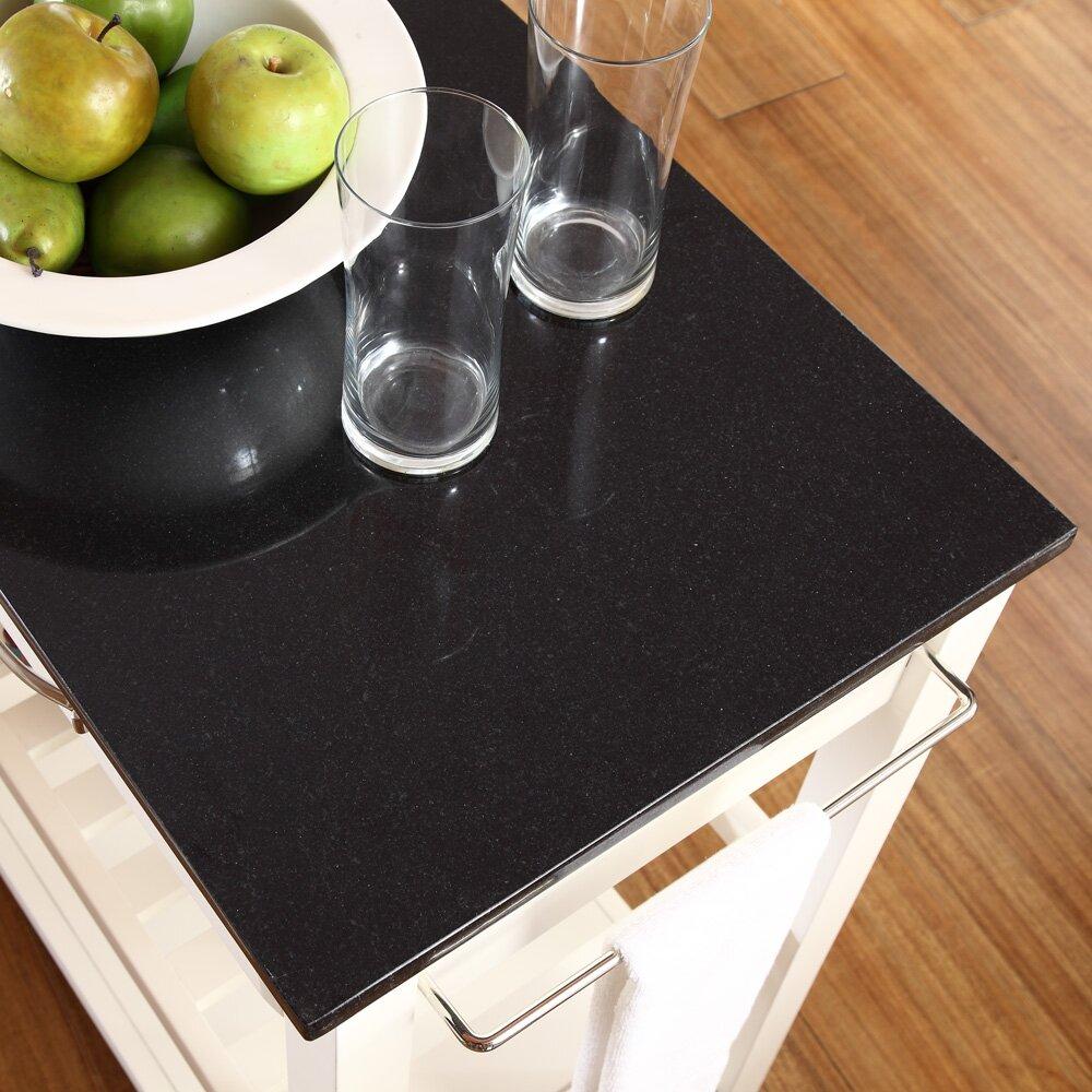crosley kitchen island with granite top reviews wayfair