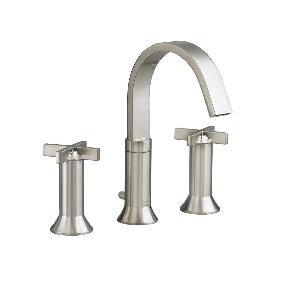 Cross Handle Bathroom Faucet American Standard Berwick Widespread Bathroom Faucet With Double