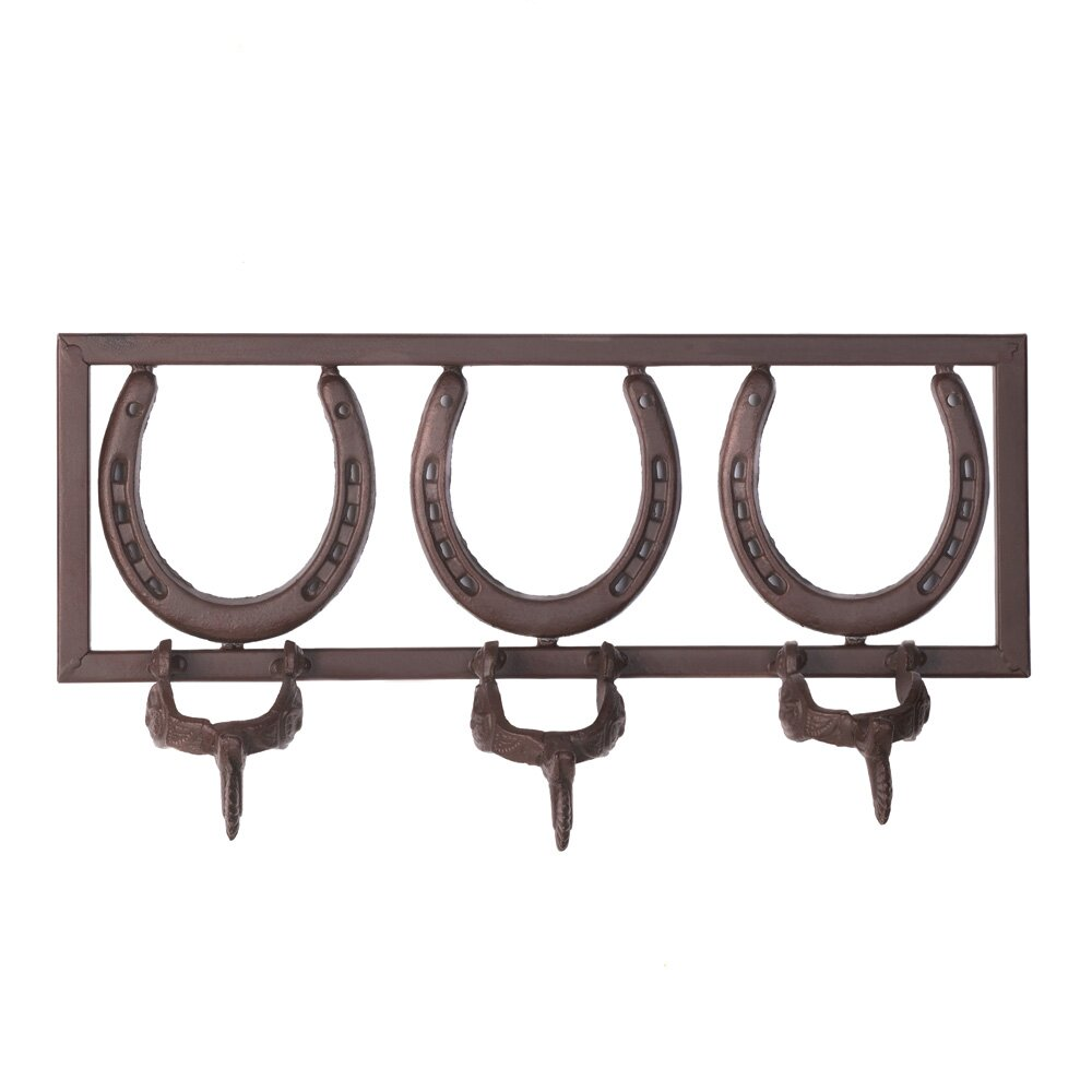 Zingz Amp Thingz Horseshoe And Spur Coat Rack Amp Reviews