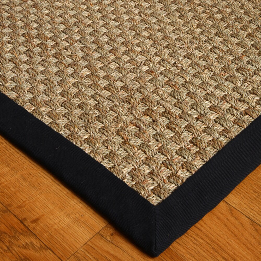 Natural Area Rugs Sisal Lancaster Black Area Rug Amp Reviews