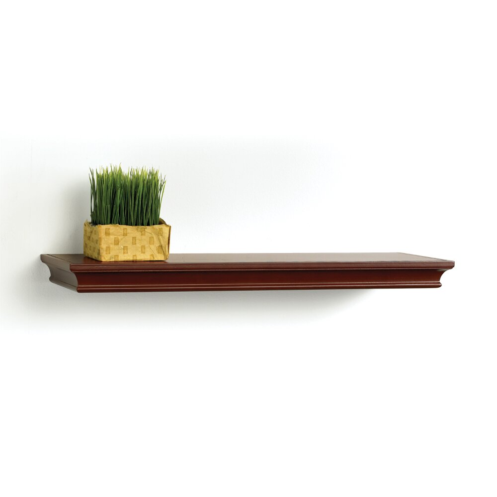lewis hyman inc inplace floating decorative wood shelf