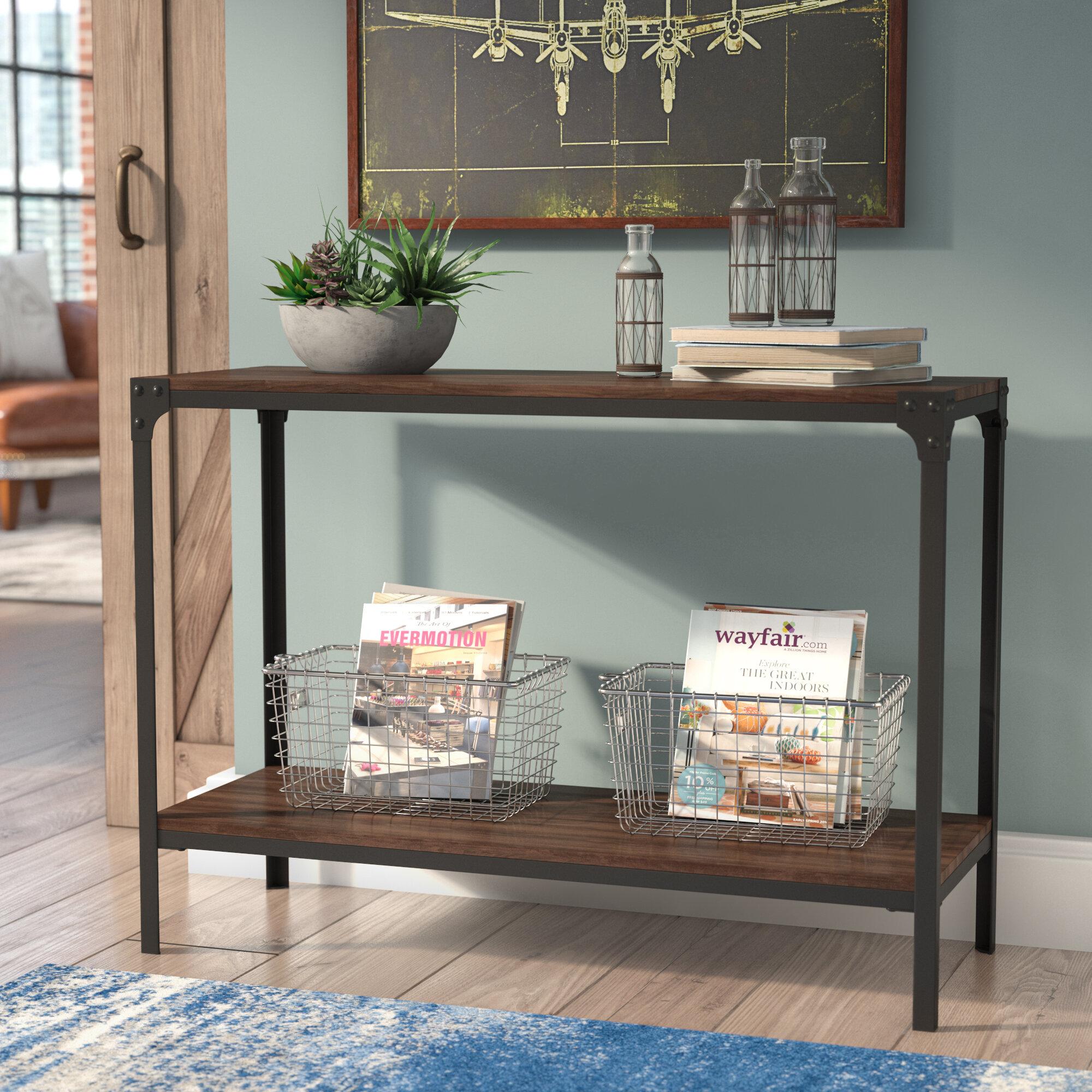 Trent Austin Design Ajax Wood/Metal Console Table U0026 Reviews | Wayfair