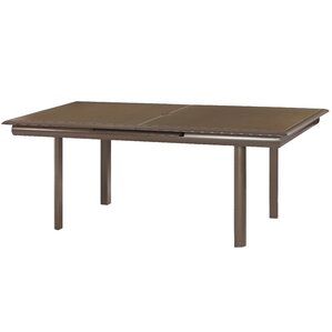 Giada Extension Dining Table With Glass Top