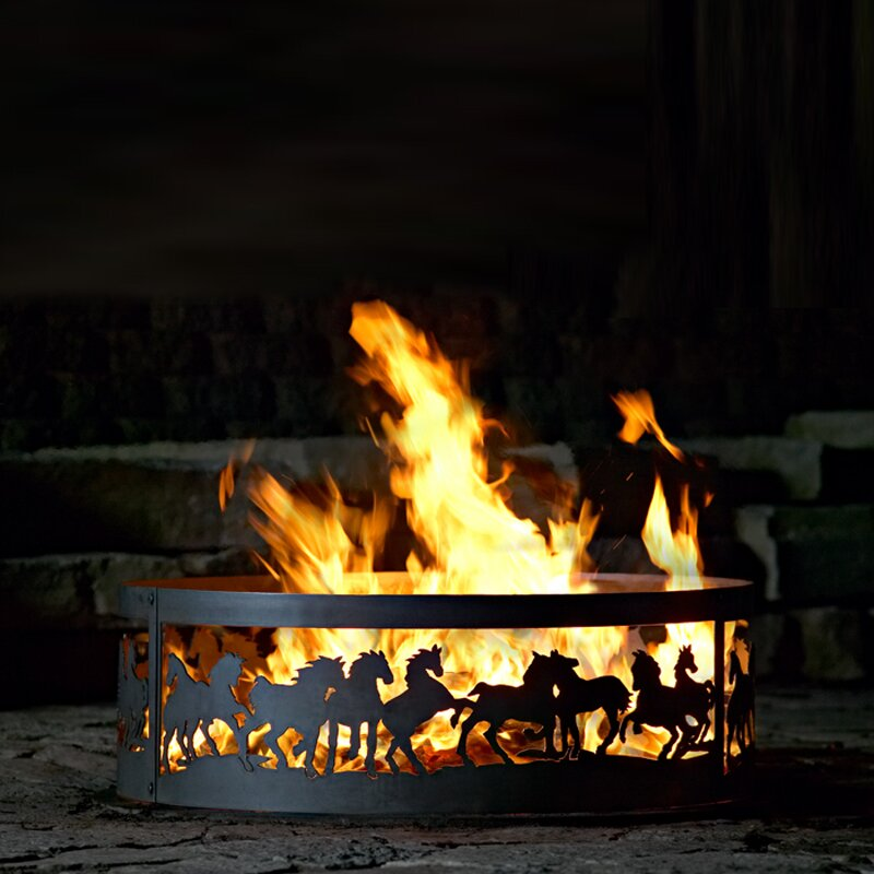 P D Metal Works Fire Ring