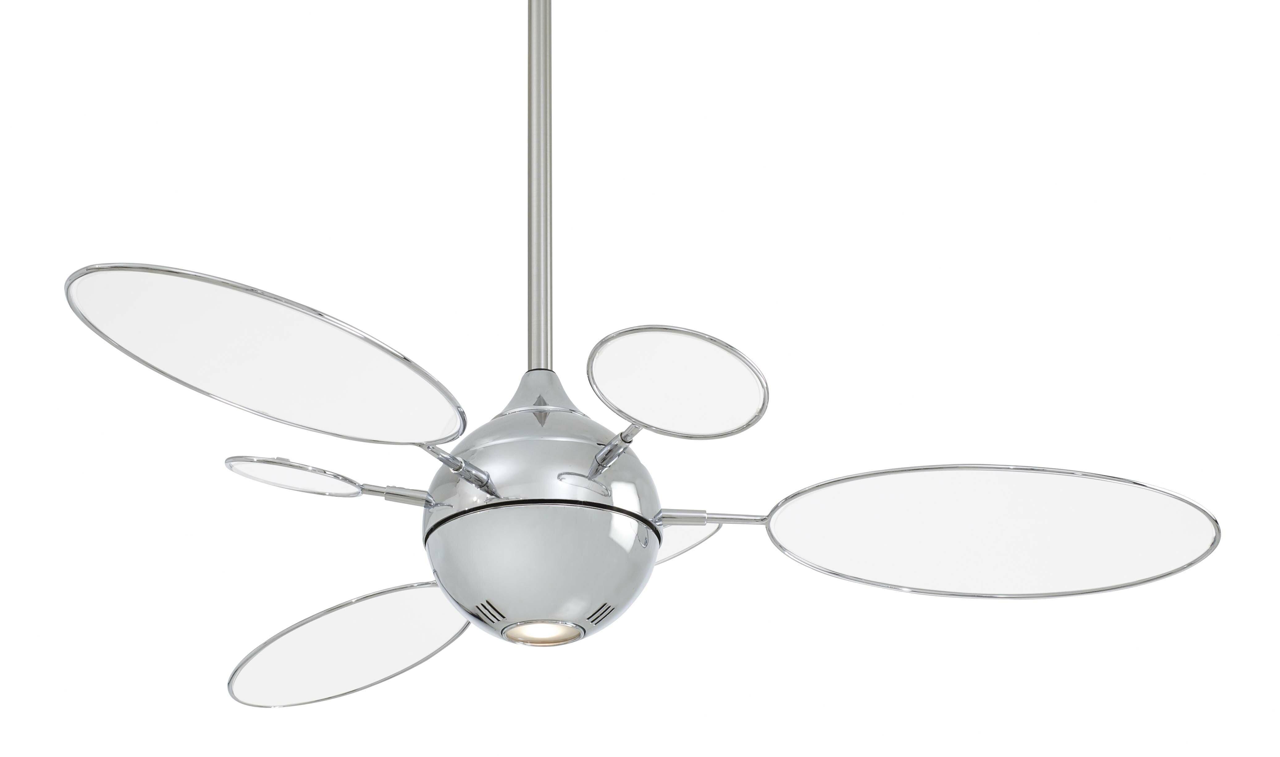 Minka Aire 54 George Kovacs 6 Blade Ceiling Fan Light Kit Included