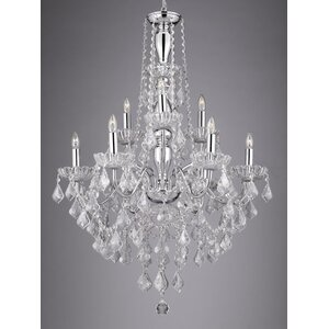 Holton 9-Light Crystal Chandelier