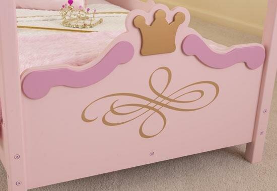 KidKraft Princess Toddler Four Poster Bed & Reviews