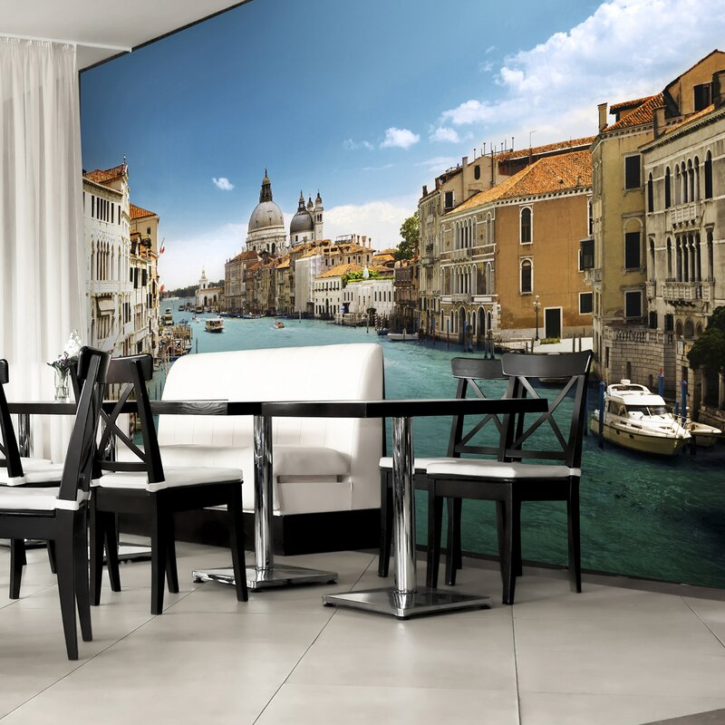 Brewster Home Fashions Ideal Decor Grand Canal Venice Wall Mural