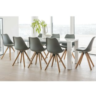 8 seater extending dining table oak billie extendable dining set with chairs seater table sets youll love wayfaircouk