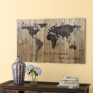 World map wall art world map graphic art on plaque gumiabroncs Gallery