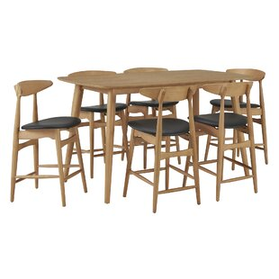 Caro 7 Piece Pub Table Set