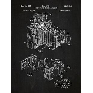 Framed blueprint art wayfair photographic camera blueprint graphic art malvernweather Choice Image
