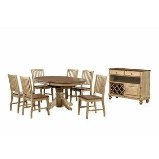 Huerfano Valley 8 Piece Dining Set