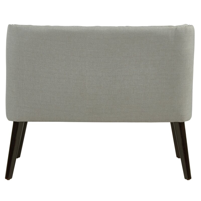 Aguayo Tufted Wing Back Settee Bench Reviews Birch Lane