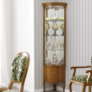 Royce Glass Door China Cabinet Best #1