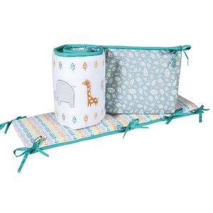 Lullaby Jungle Crib Bumper