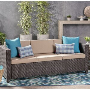 Are Outdoor Rattan Sofa Set with Cushions