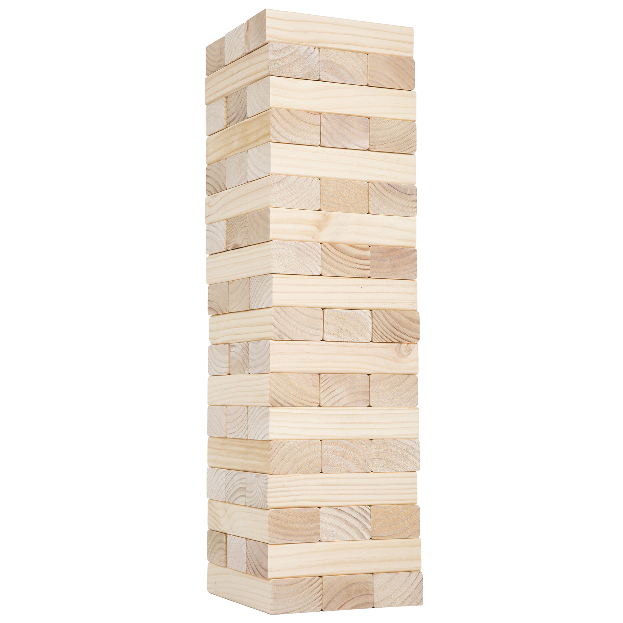 Classic Giant Wooden Blocks Tower Stacking Game