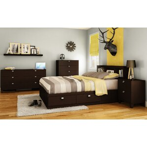 Karma Platform Configurable Bedroom Set by South Shore