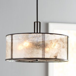 drum pendant lighting. Seeley 4-Light Drum Pendant Lighting G