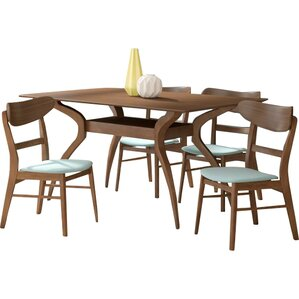 Patterson 5 Piece Dining Set by Langley Street