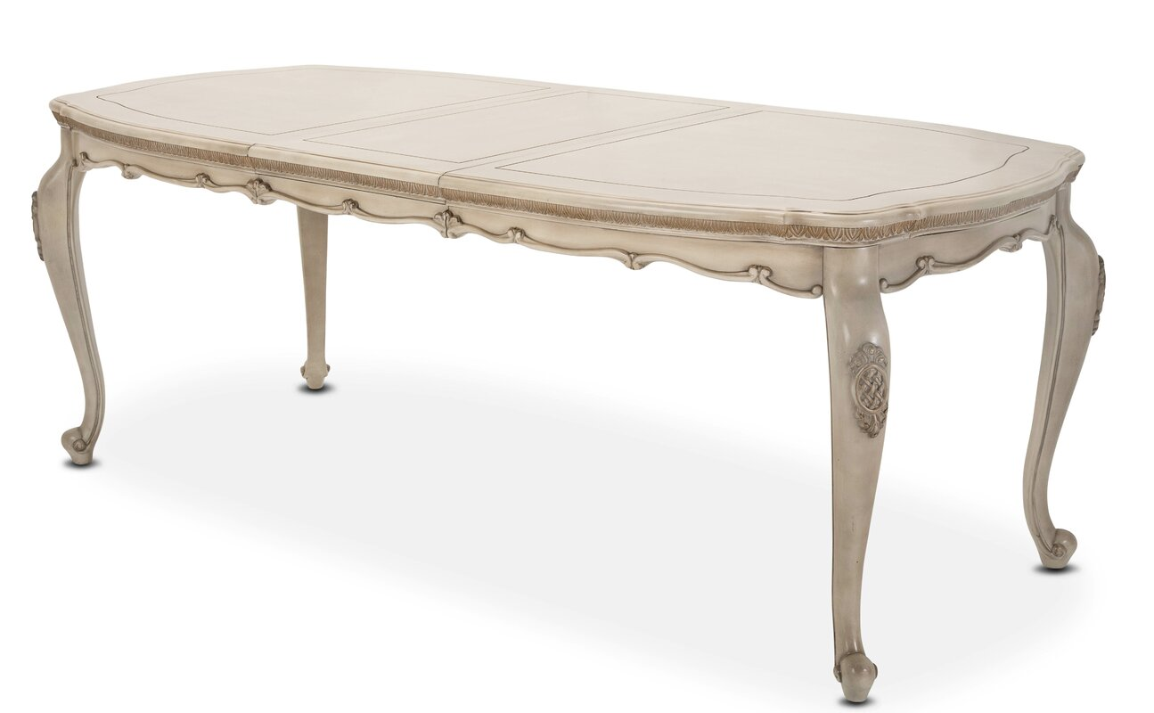 Michael Amini Lavelle Cottage Oval Dining Table & Reviews