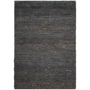 Eco-Smart Hand-Woven Gray Area Rug