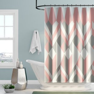 Mcneal Cotton Shower Curtain