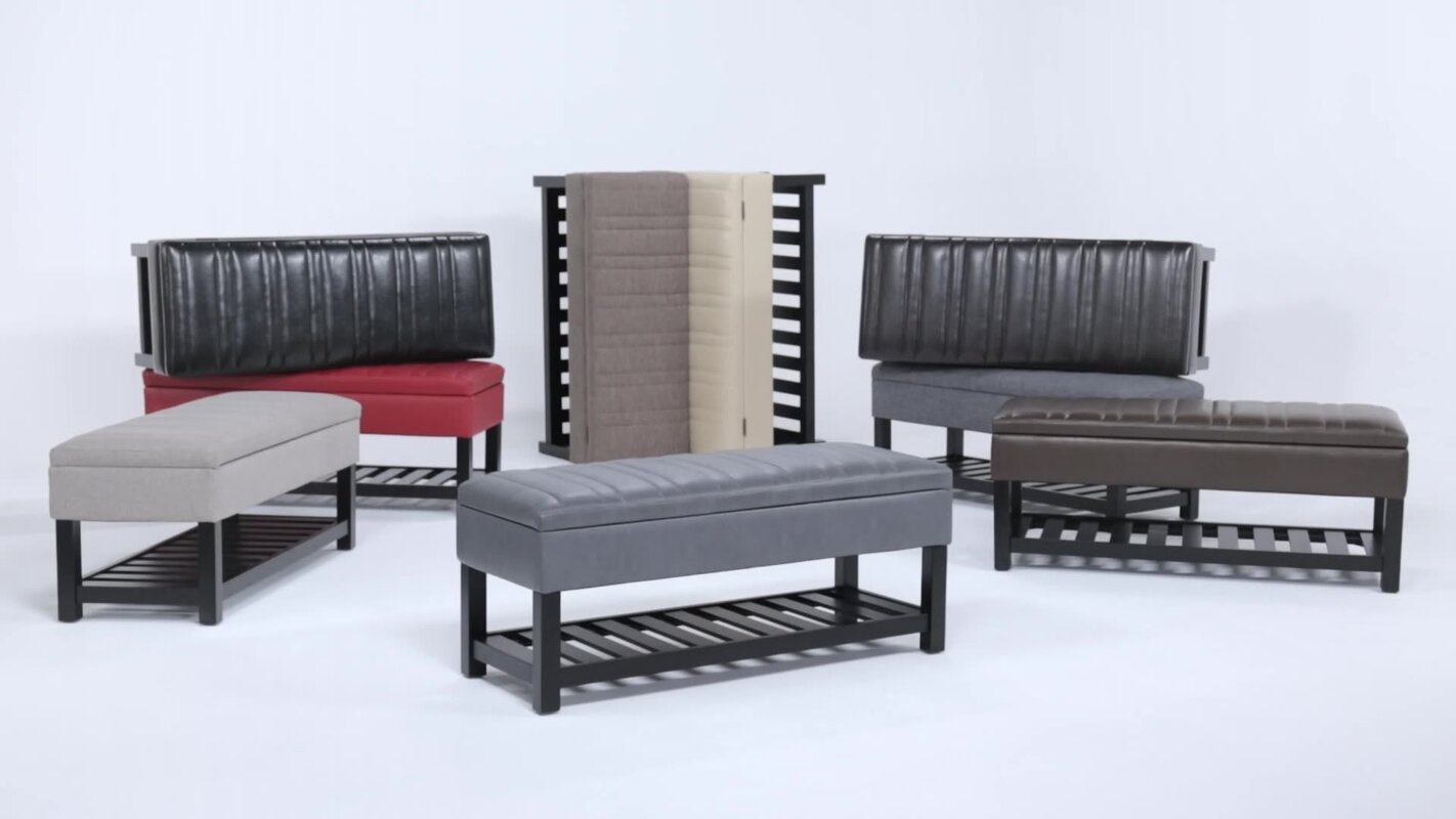 Memphis Upholstered Storage Bench