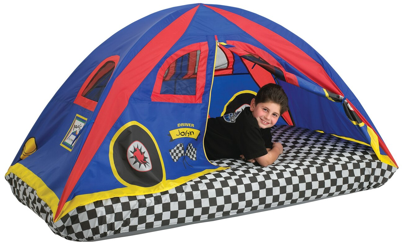 Rad Racer Bed Play Tent  sc 1 st  Wayfair & Pacific Play Tents Rad Racer Bed Play Tent u0026 Reviews | Wayfair