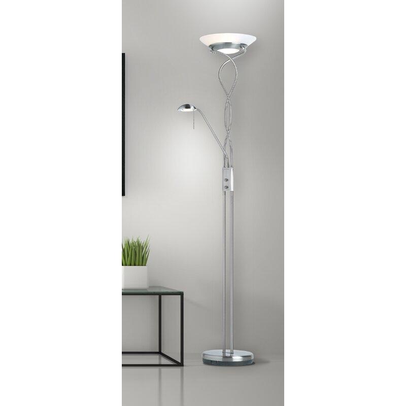 Endon lighting monaco 182cm uplighter floor lamp reviews wayfair monaco 182cm uplighter floor lamp aloadofball Image collections