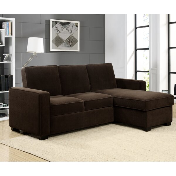 sc 1 st  Wayfair : leather sectional sofa bed - Sectionals, Sofas & Couches