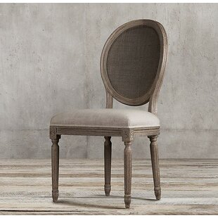 Bismarck Solid Wood Dining Chair by One Allium Way