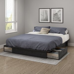 Back Bay Storage Platform Bed