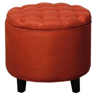 Orange round ottoman Mid Century Quickview Wayfair 30 Inch Round Ottoman Wayfair
