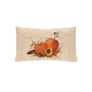 Waddell Pumpkin Lumbar Pillow Cover