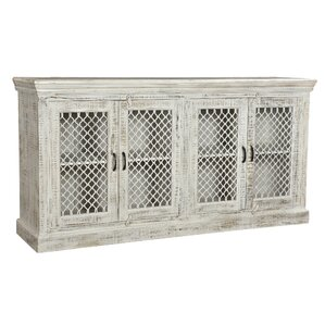 Aloisio Sideboard with Iron Mesh Insets by One Allium Way