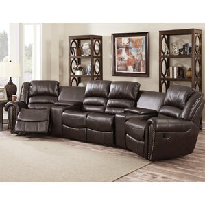 Abbie Home Theater Recliner (Row Of 4)