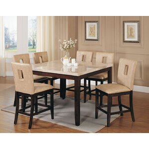 Humberto 7 Piece Counter Height Dining Set