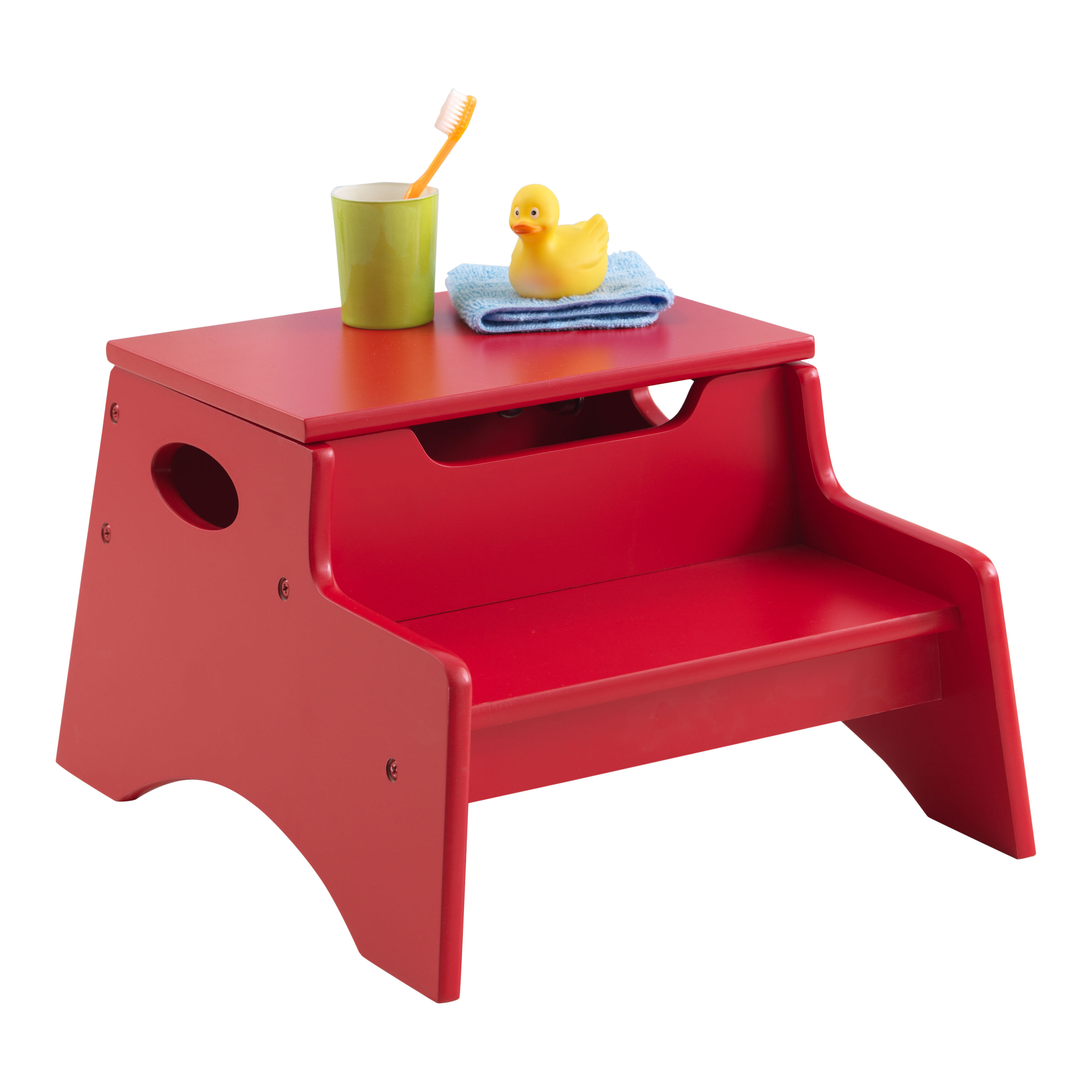 KidKraft Step Stool With Storage U0026 Reviews | Wayfair