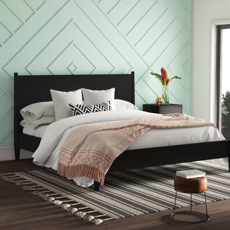 Mason Mid-Century Modern Platform Configurable Bedroom Set