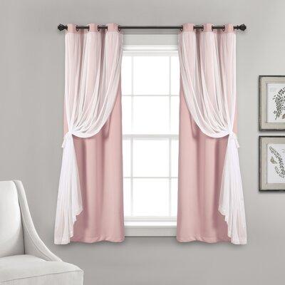 Pink Curtains Amp Drapes Joss Amp Main