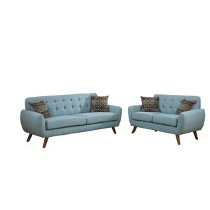 Wooten 2 Piece Living Room Set