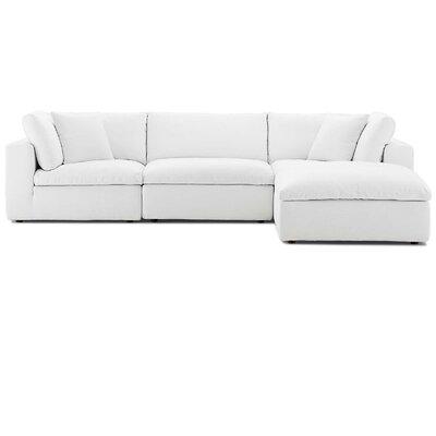 Modern White Sectionals Allmodern