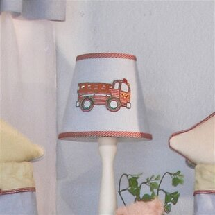 Embroidered Lamp Shades Embroidered lamp shade wayfair fire engine 8 cotton empire lamp shade audiocablefo