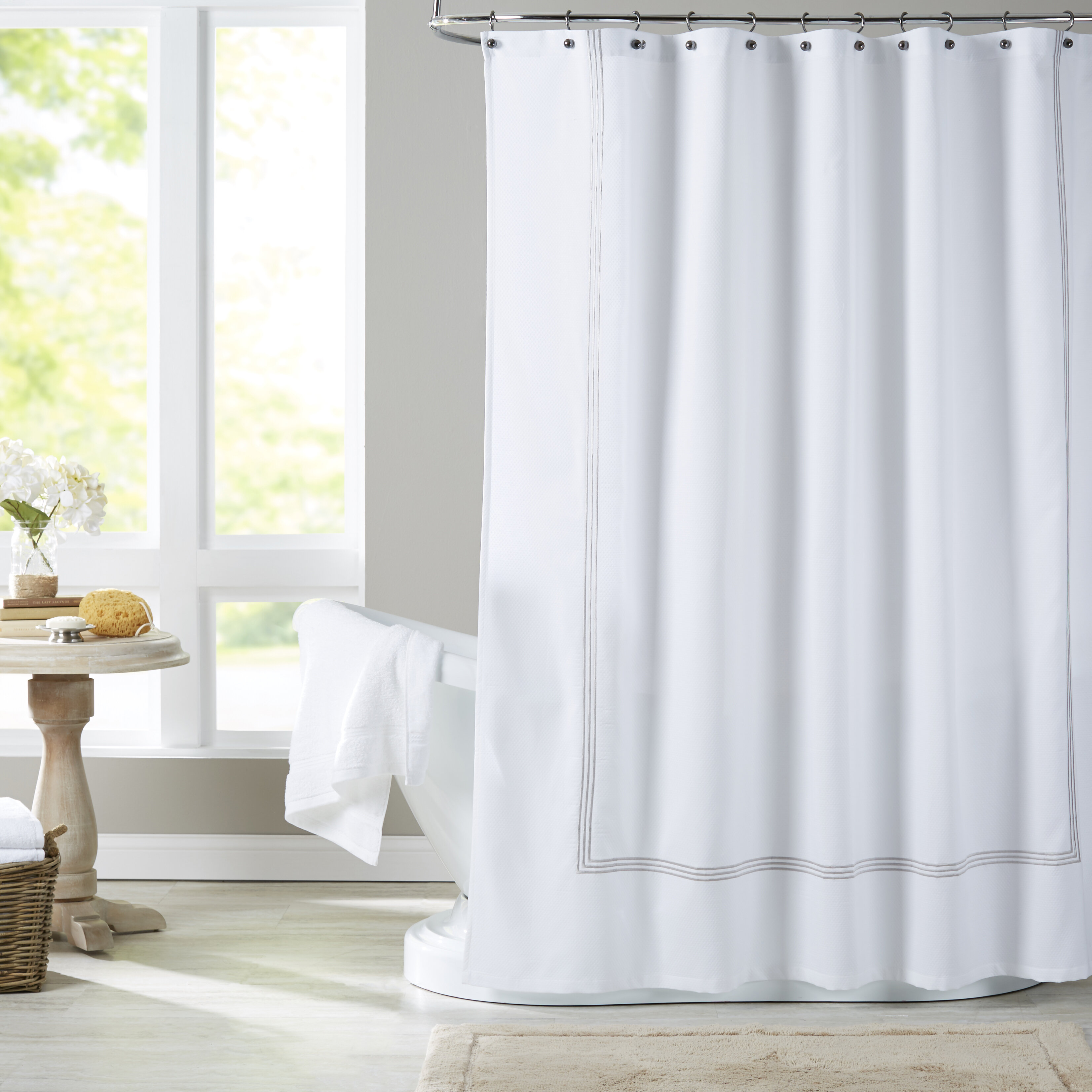 rod extra curtain for on navy wonderful with in decor awesome standard straight long liner wall lavender iron sho bathroom shower target hookless curtains design blue size silver ideas