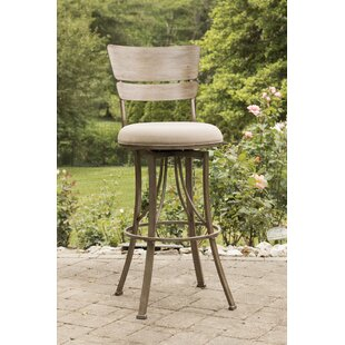 Ilyana 30 Swivel Indoor/Outdoor Patio Bar Stool